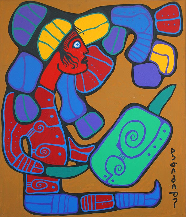 Norval Morrisseau original paintings